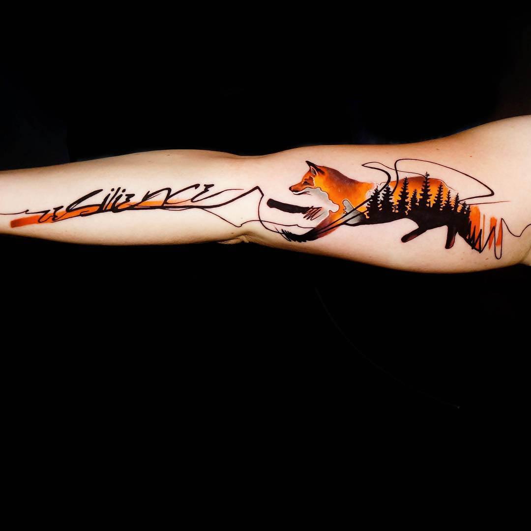 fox tattoo resilience