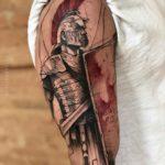 Roman Soldier Tattoo