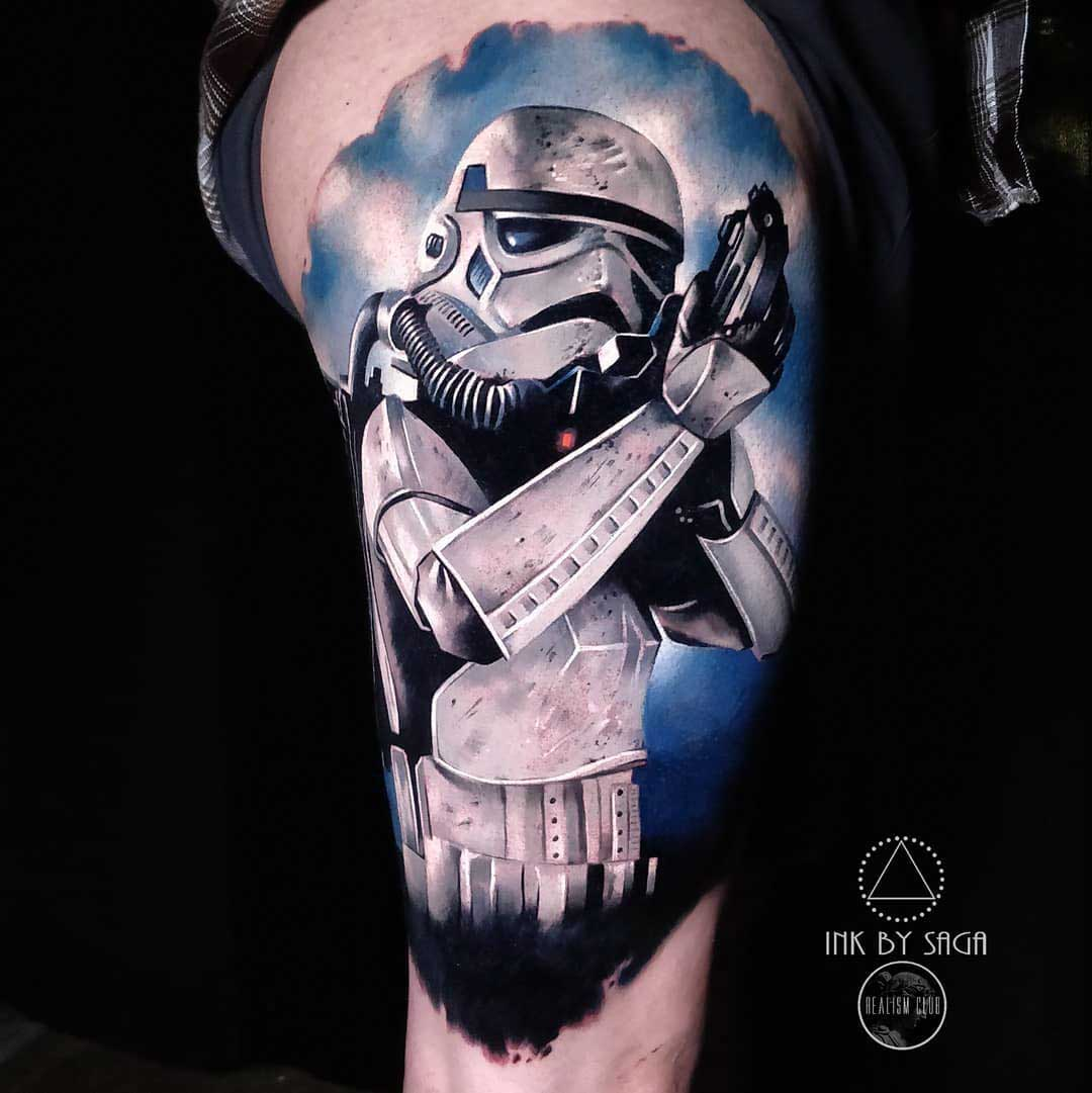 star wars tattoo storpmtrooper