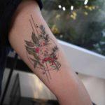 Red Berries Tattoo