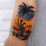Romantic Island Tattoo