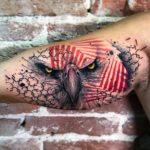 Bicep Tattoo Eagle